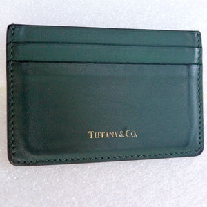 Auth TIFFANY CO Card Wallet Case Handbag Accessory
